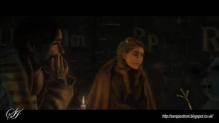 The Book Thief: Color and Light study by saretta13
