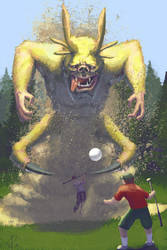 The Behemoth Under Hole 14 by Ultra0kelvin