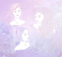The Three Dames by LisbethNevermore