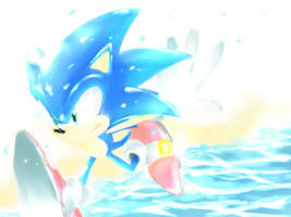 Clear Blue by lonerurouni187