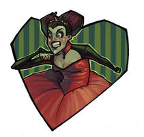 Queen of Hearts by parttimeninja