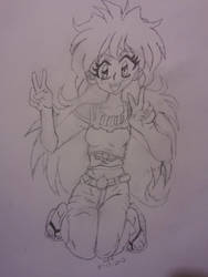 Lina inverse peace by dokikittyproductions