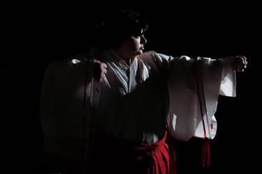 Leah-Hibbs-Inuyasha-Kikyo by dokikittyproductions