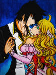 Zevis--- Zeref and Mavis by notadz7292
