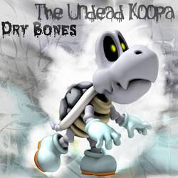 The Undead Koopa: Dry Bones by Saston