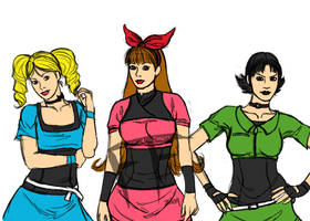 WIP-The Powerpuff Girls by FusionFemmes