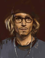 Johnny Depp by BilberryCat