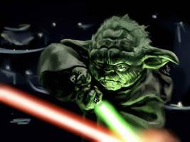 Yoda by BilberryCat