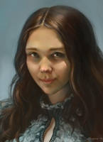 Self-portrait by BilberryCat