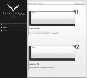 xnusART v3 early splash design by xnus-art