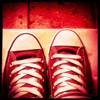 my shoes.. by leukoula