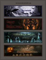 Elvenar Halloween Sigs by Neyjour