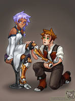 Will and Claire by baranot3nshi
