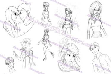 Sketch Dump 002 by WhateverRSD