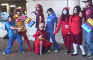 God Tier Cosplayers by Aneiryndae