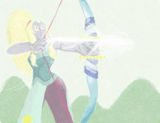 Steven Universe - fanart d'Opale by zibelinbelt