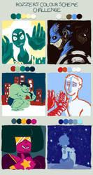 Color challenge by zibelinbelt