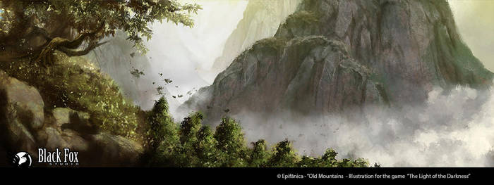 Old Mountains by Blackfoxst