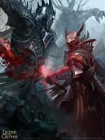 Diego de Almeida - The Crimson Striker by Blackfoxst