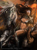 Atla`s Strongest Female Warrior - advanced by Blackfoxst