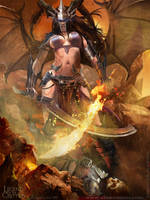 Enlightened Fallen Angel ADV by Blackfoxst