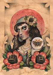 Gypsy Rose Lee by Rezurekted