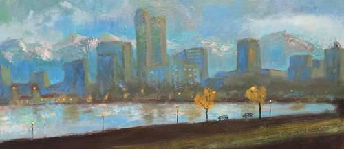 Denver Skyline Study 2018 by center555