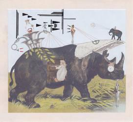 Rhino Composition by hrn