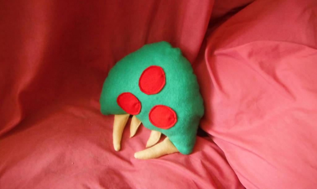 Baby Metroid Plushie [no description] by linkinspirit95