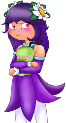 Pouty Purple and Biting Pear of Salamanca by Purple-Seedrian