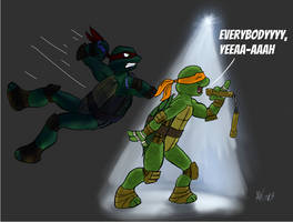 Turtles Are Back Alright by Snapai