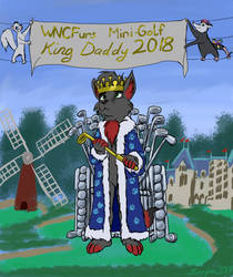 WNCFurs Mini Golf King Daddy 2018 by Snapai