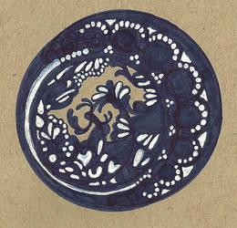 Bleu circle by meropepa