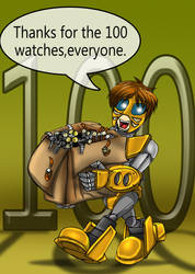100+ watches :) by MikeOrion