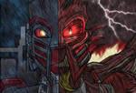 Dark Takanuva and Dark Takanuva Prime by MikeOrion