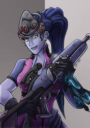 Overwatch Fanart: Widowmaker by MikeOrion