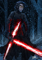 Kylo Ren by MikeOrion
