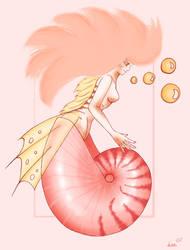 Nautilus colored by Lulana