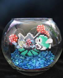 LavaLotus Fishbowl by Rrilltrae
