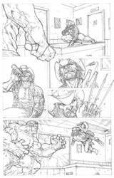 Wolverine vs Hulk page 3 by RudyVasquez