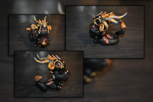 Olympia the Orb Dragon by KirstenBerryCrafts
