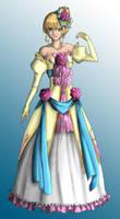 Tooaya's Sadie Ballgown color by Dracophile
