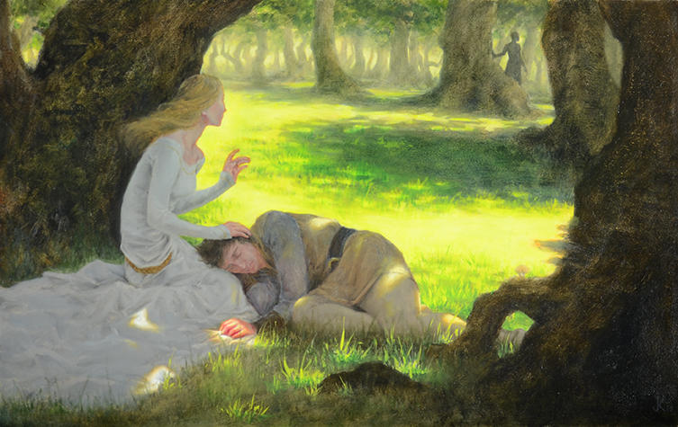 Tristan and Isolde by LaughingAstarael