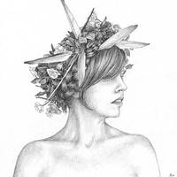 Fairest Spring Drawing by LaughingAstarael