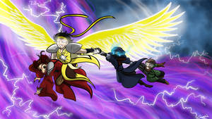 Archangel Theo - Aventures by Elwensa