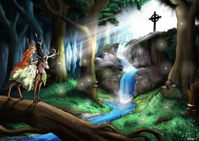 Commission: Light of God by Elwensa