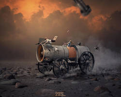Off roadin' Steampunk style by dresew