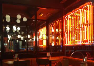 London Pub by PuzzledHeartBox
