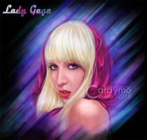 Lady Gaga Portrait by Calaymo