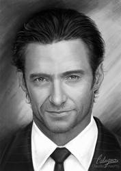 Hugh Jackman by Calaymo